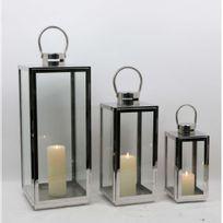 - Lanterne inox - grand modèle