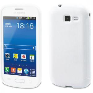 Muvit housse minigel glossy blanc samsung galaxy trend - Samsung galaxy trend lite blanc pas cher ...