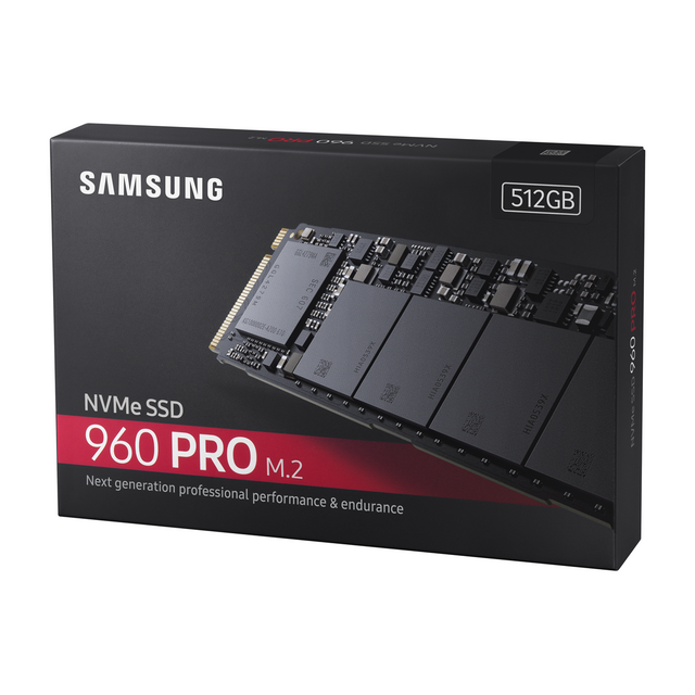 Samsung - SSD 960 PRO M.2 512Go