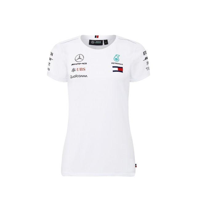 Generique Driver Blanc Femme Shirt T Pour Amg Mercedes Marque dYUBpWB