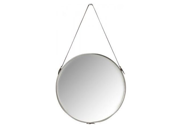 Declikdeco Le Miroir Kare Design A Suspendre Ø61cm Hacienda donnera une touche ethnique à votre dressing ou à votre salle de bain.