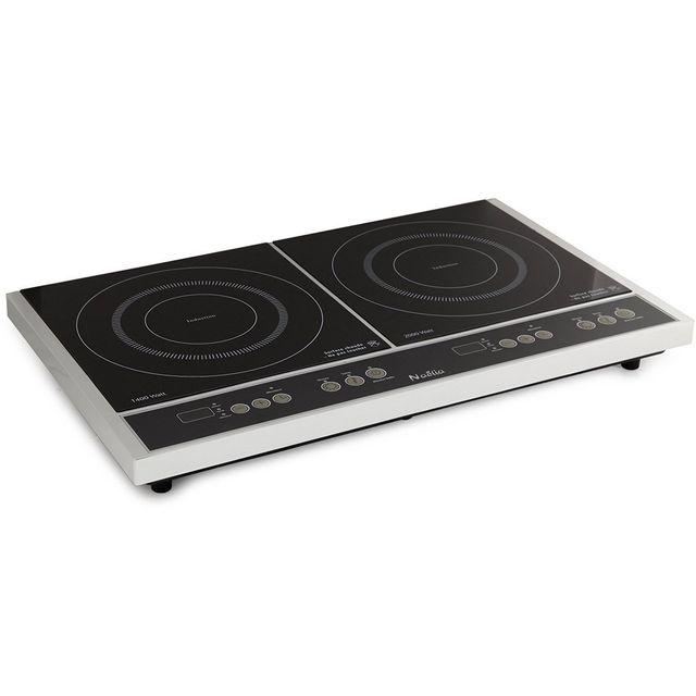 naelia table de cuisson induction posable 2 feux 3400w. Black Bedroom Furniture Sets. Home Design Ideas