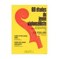 Edition Delrieu - Etudes du jeune violoncelliste 60
