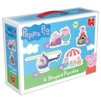 Diset - Puzzle de 3 à 12 pièces : Peppa Pig