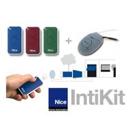 Nice - Pack IntiKit : 3 telecommandes + 1 récepteur 2 canaux