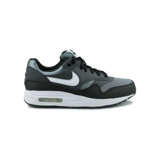 Nike Air Max 1 Junior Noir 807602 009 pas cher Achat