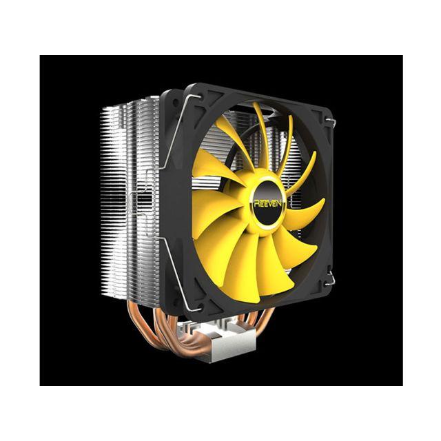 REEVEN Ventirad pour processeur Hans RC-1205n HANS - Le ventirad compact adapté à une grande gamme de PC, HANS est le meilleur choix pour obtenir des performances, à petit prix.