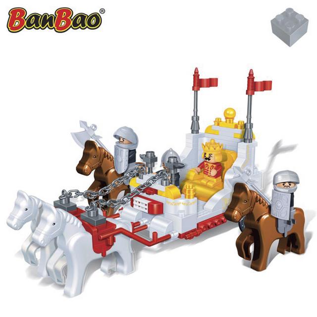 Rocambolesk Superbe Carrosse royal BanBao 8267 neuf