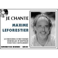 Paul Beuscher Publications - Leforestier Maxime - Je Chante Le Forestier