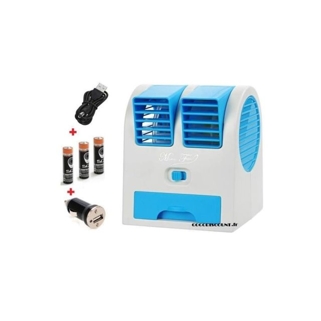 dealstore mini climatiseur eau glacon rafraichisseur d 39 air id al maison auto bureau pas. Black Bedroom Furniture Sets. Home Design Ideas