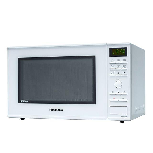 PANASONIC micro-ondes inverter 30l 1000w blanc - nn-sd452wepg