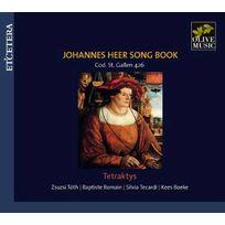 Etcetera - Johannes De Heer - Recueil de chansons