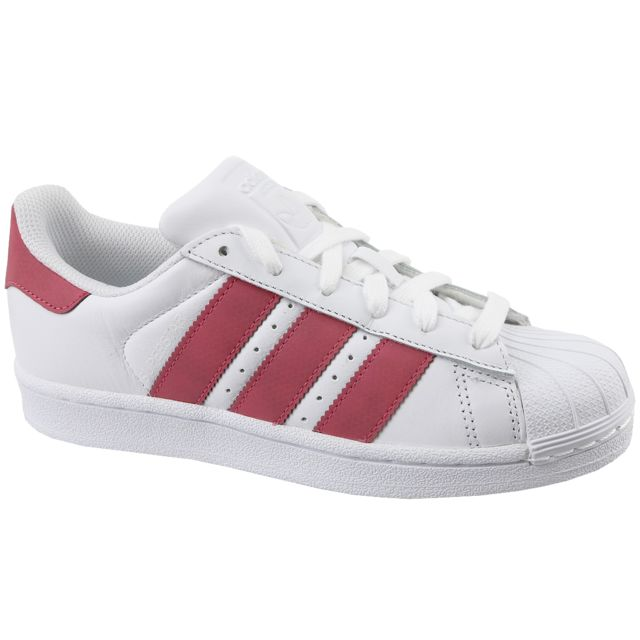 Adidas Superstar J Cq2690 Blanc pas cher Achat Vente