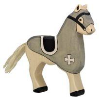 Holztiger - 80250 - Figurine - Cheval De Course - Noir
