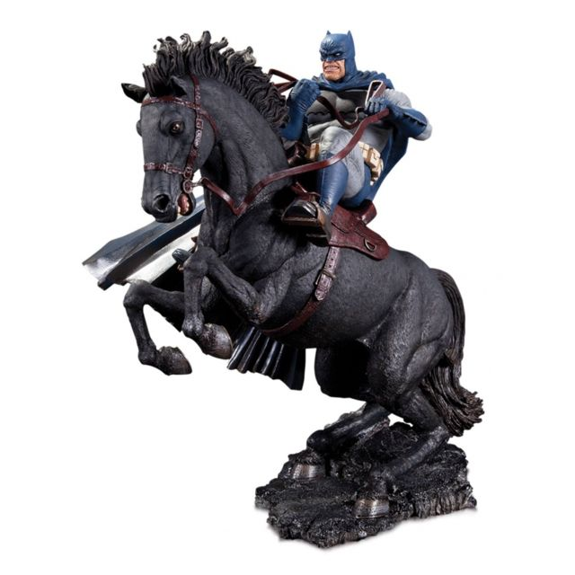 Dc Collectibles The Dark Knight Returns - Statuette Mini Battle A Call To Arms 20 cm