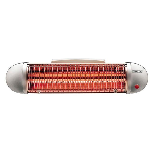 Supra chauffage radiant infrarouge quartz 1200w ri - Chauffage infrarouge salle de bain ...