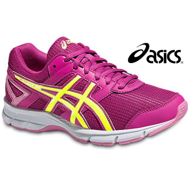 Asics Baskets Gel Galaxy 8 Rose Berry flash yellow junior