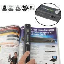Wewoo - Scanner portable Document & à main d'image carte Tf noir