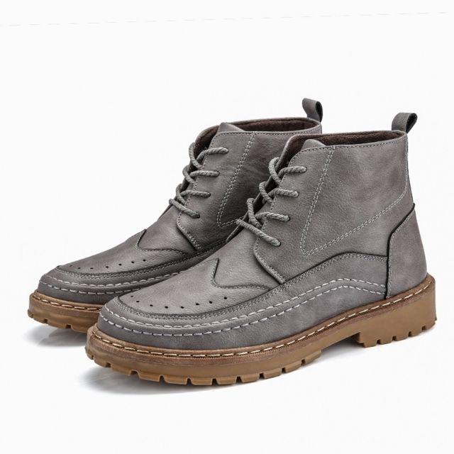 Wewoo Chaussures Bottes Martin à lacets à pour femmes