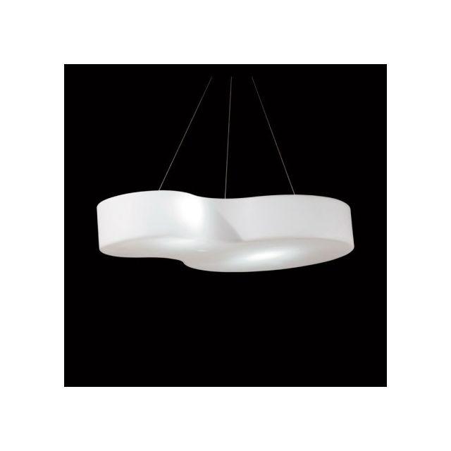 Slide - Suspension intérieure Nuvola Handing L152 cm - Blanc 95cm x 152cm x 23cm