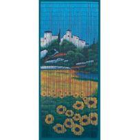 Provence Outillage - Rideau bambou Motif provençal 90 x 200 cm
