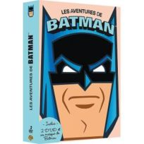 Warner Bros. - Coffret 2 Dvd + 1 masque - Les aventures de Batman
