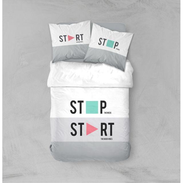 TODAY Parure de lit Start 240x220cm Parure de lit START - HC 220/240 + 2 TO 63/63 - 100% Coton