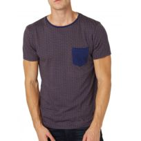 Tom Tailor - T-shirt Denim Minimal Allover Printed