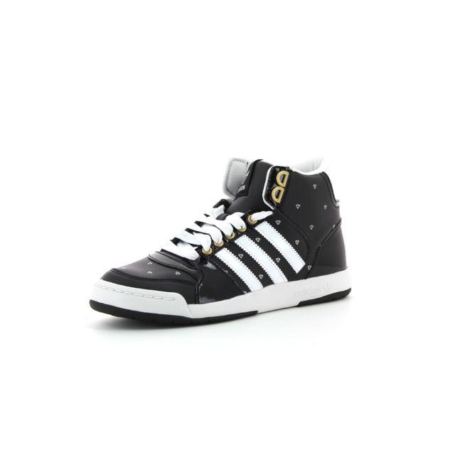 ea7d255ac22 Adidas originals - Baskets montantes Midiru Court Mid 2 - pas cher Achat   Vente  Baskets femme - RueDuCommerce