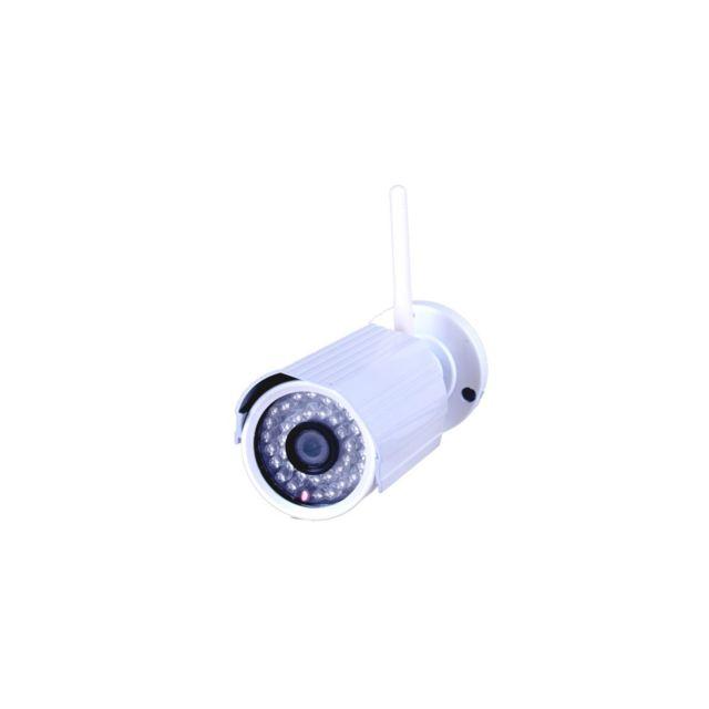 Auto-hightech Camera Ip infrarouge sans fil H.264 720P objectif 3.6mm 1.0 Megapixel Avec Wifi Sans Fil P2P, vision nocturne Ir Onvif 2