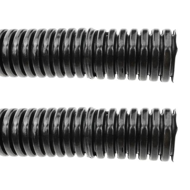 BeMatik Gaine annel/ée Fendue Buse de Protection des c/âbles Tube Flexible ondul/é pour int/érieur M-20 13mm 10m