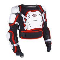 Shot Race Gear - Shot Gilet de Protection Cross optimal Blanc