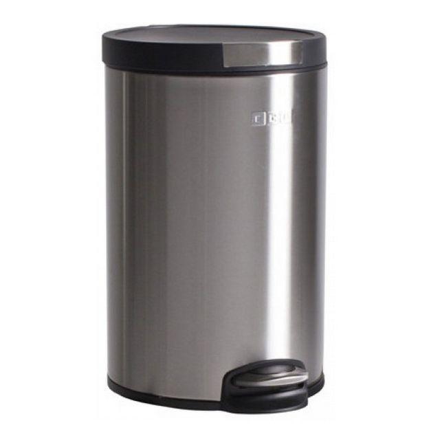 OGO poubelle à pédale 12l inox mat - 7910152