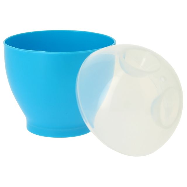 Promobo - Set 2 Cuit Oeuf Micro onde Mollet Dur Bleu