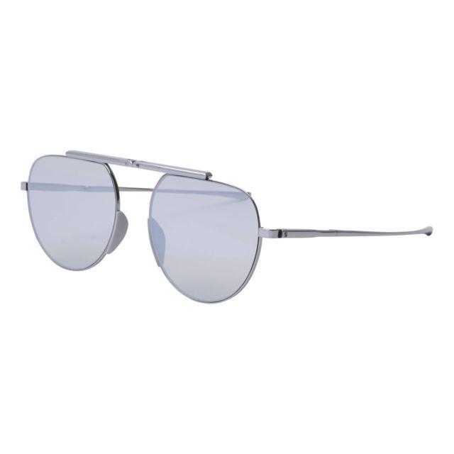 900d6863e9528 ... Calvin Klein - Lunettes de soleil Calvin Klein Ck-8055-S 038 Mixte  Argent ...