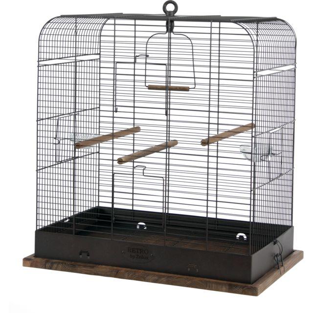 89ff2890968dd3 ZOLUX - Cage Retro Madeleine - pas cher Achat   Vente Cage à oiseaux ...
