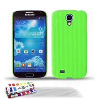 "Muzzano - Coque Rigide Ultra-Slim ""Le Pika"" Premium Vert pour Samsung Galaxy S4 + 3 Films de protection ?cran"