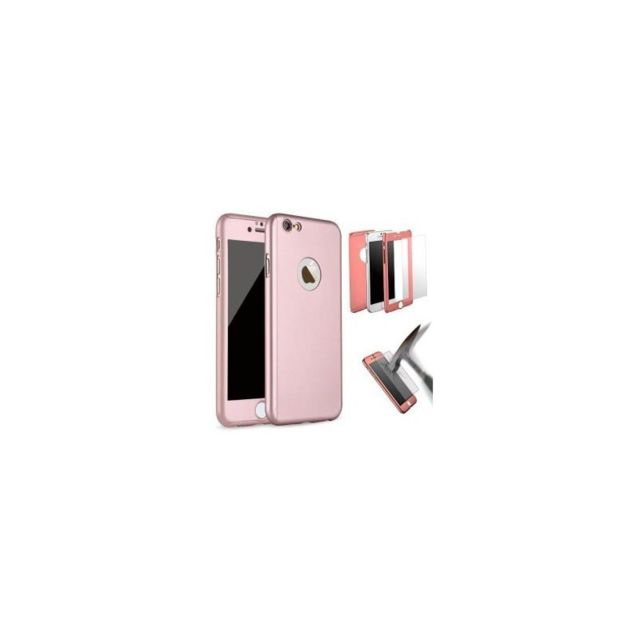 coque 360 iphone 7 rose