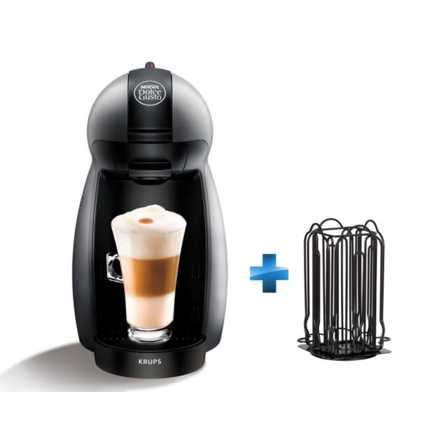 krups cafeti re capsules dolce gusto piccolo yy2283fd porte capsules nespresso noir achat. Black Bedroom Furniture Sets. Home Design Ideas