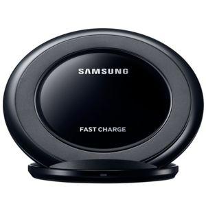 samsung chargeur induction stand charge rapide noir pas cher achat vente batterie. Black Bedroom Furniture Sets. Home Design Ideas