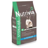 Nutrivia - Croquettes au Poisson pour Chat Stérilisé - 2Kg