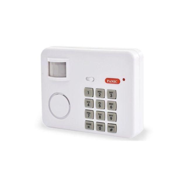 scs sentinel alarme autonome de passage sans fil safealarm pas cher achat vente alarme. Black Bedroom Furniture Sets. Home Design Ideas