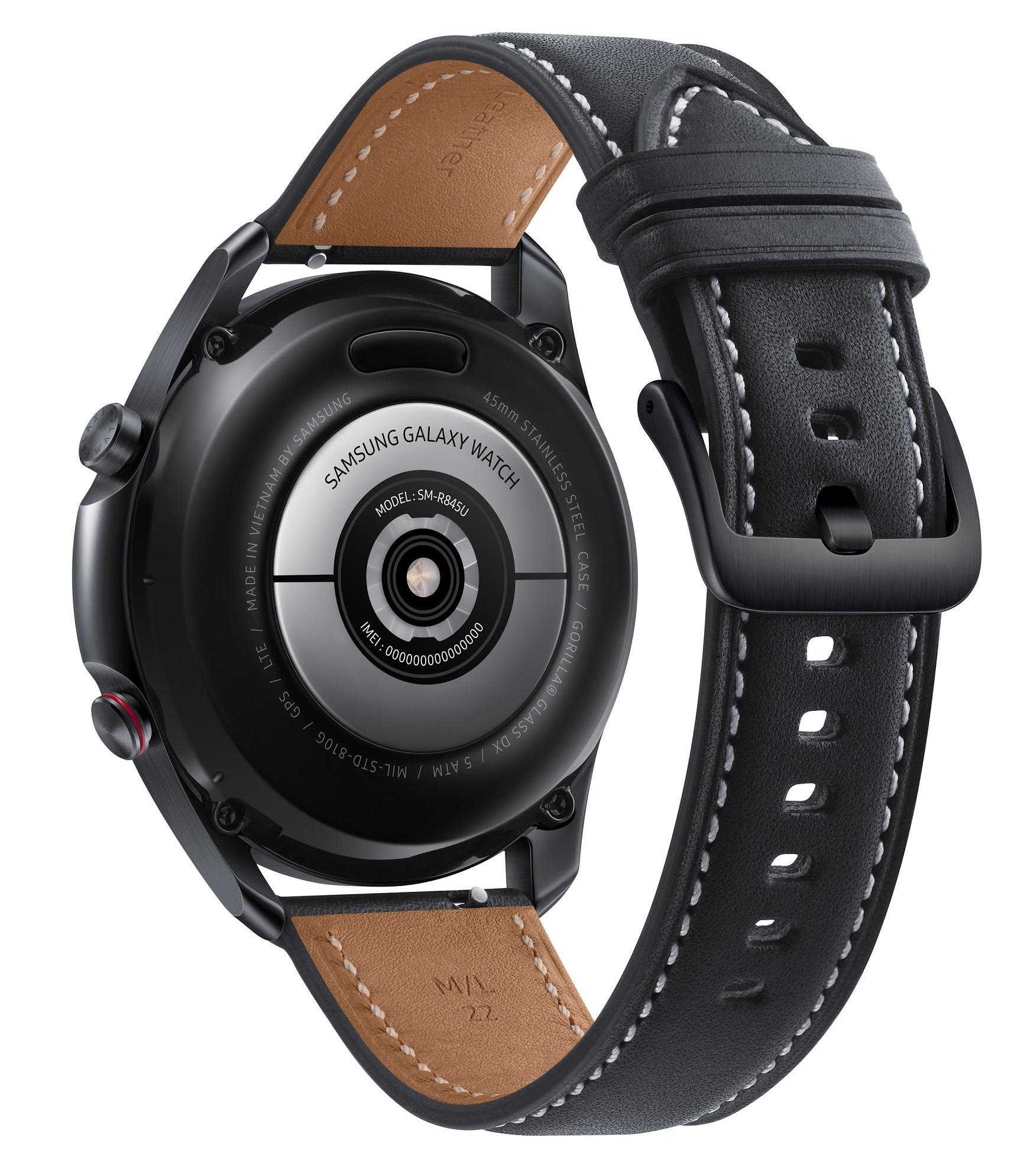 Montre connectée Galaxy Watch 3 SM-R840 4G 45 mm Samsung Noir