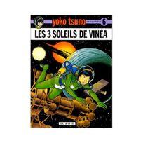 Générique - Yoko Tsuno, tome 6 : Les 3 soleils de Vinéa