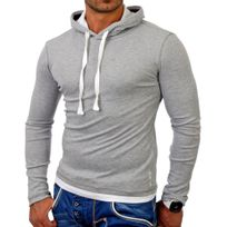 Tazzio - Sweat capuche homme Sweat 1003 gris