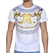 Distinct By Rohff - Distinct - T Shirt Manches Courtes - Homme - Angel - Blanc