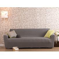 Comptoir Des Toiles - Housse de canapé 3 places bi-extensible Lisa