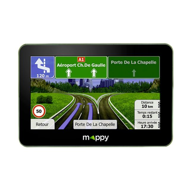 mappy gps ulti s549 achat vente gps europe pas cher rueducommerce. Black Bedroom Furniture Sets. Home Design Ideas