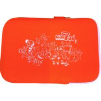 VIDEOJET - Pochette orange pour tablette Kidspad - 5021