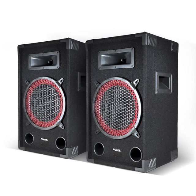 Ibiza Sound Lot de 2 Enceintes passives sono Dj Pa 10